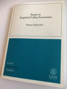 Best phd thesis in economics