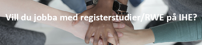 Vill du jobba med registerstudier på IHE?